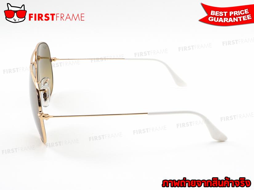 แว่นกันแดด RayBan RB3025 001/3K | AVIATOR LARGE METAL3