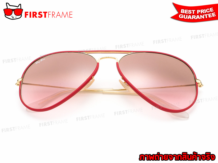 แว่นกันแดด RayBan RB3025JM 001/X3 | AVIATOR FULL COLOR 5