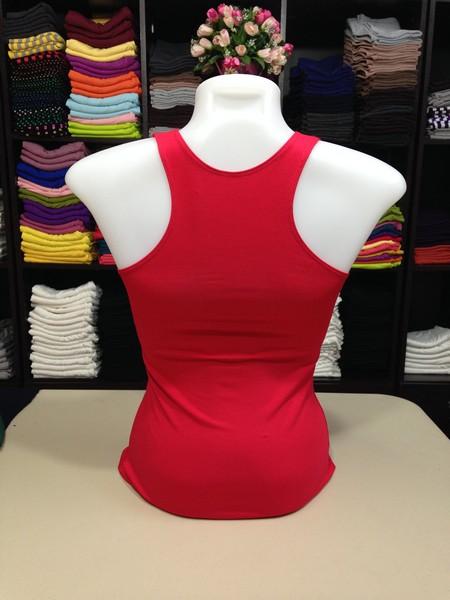 เสื้อกล้ามหลังสปอร์ต สีแดง