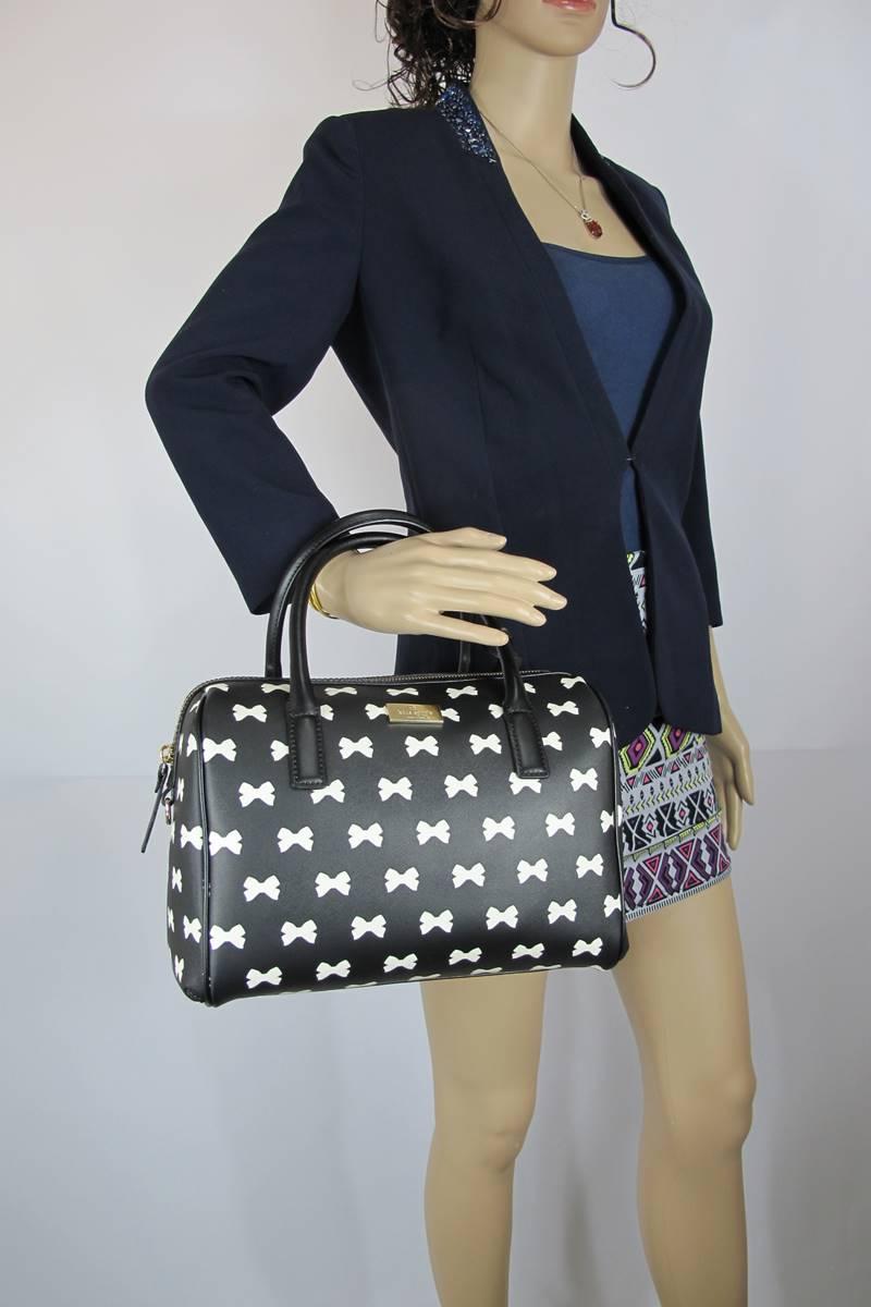 สินค้าพร้อมส่งจาก USA » กระเป๋า KATE SPADE WKRU2654-017 DENA BRIGHTWATER DRIVE blk/cream017 crossbody handbag
