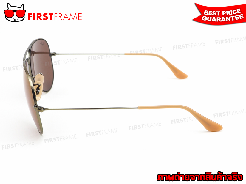 แว่นกันแดด RayBan RB3025 167/2K | AVIATOR LARGE METAL NEW COLOR3