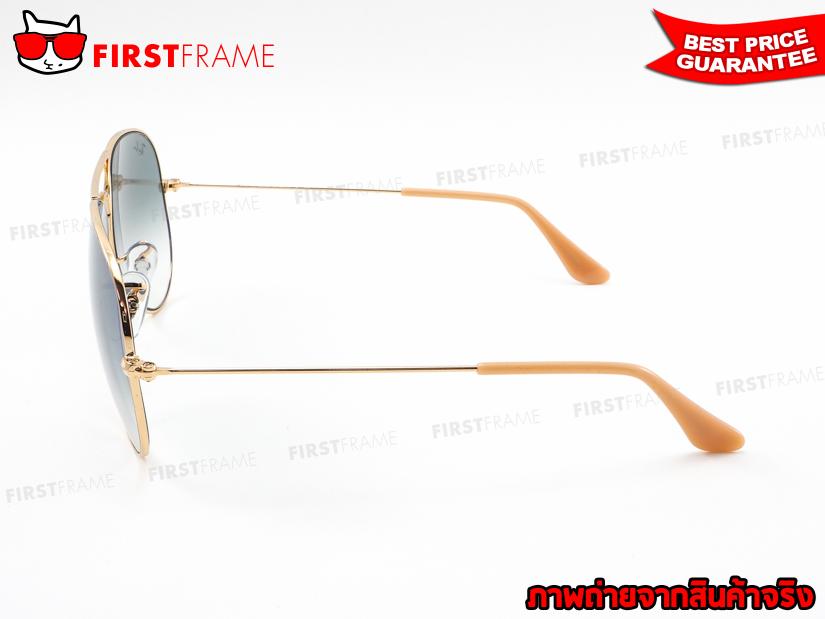 แว่นกันแดด RayBan RB3025 001/3F | AVIATOR LARGE METAL3