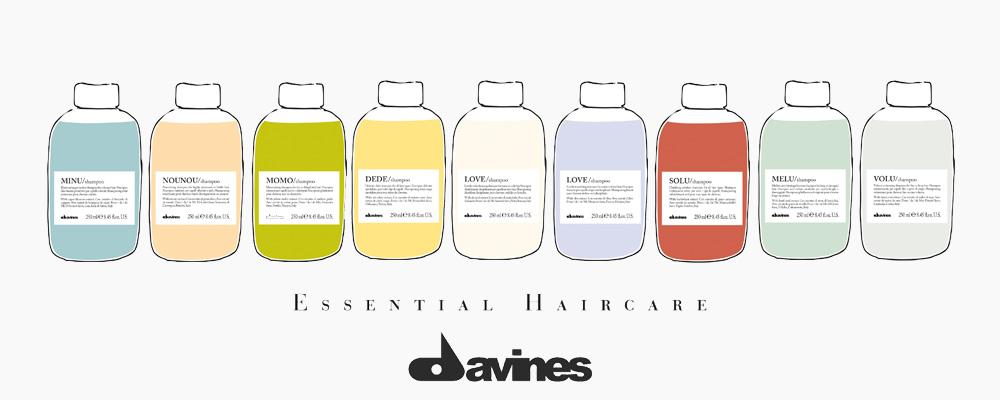 ผลิตภัณฑ์ดูแลเส้นผมDavines Essential Haircare ออกแบบผลิตภัฑณ์ดูแลเส้นผมและโลก