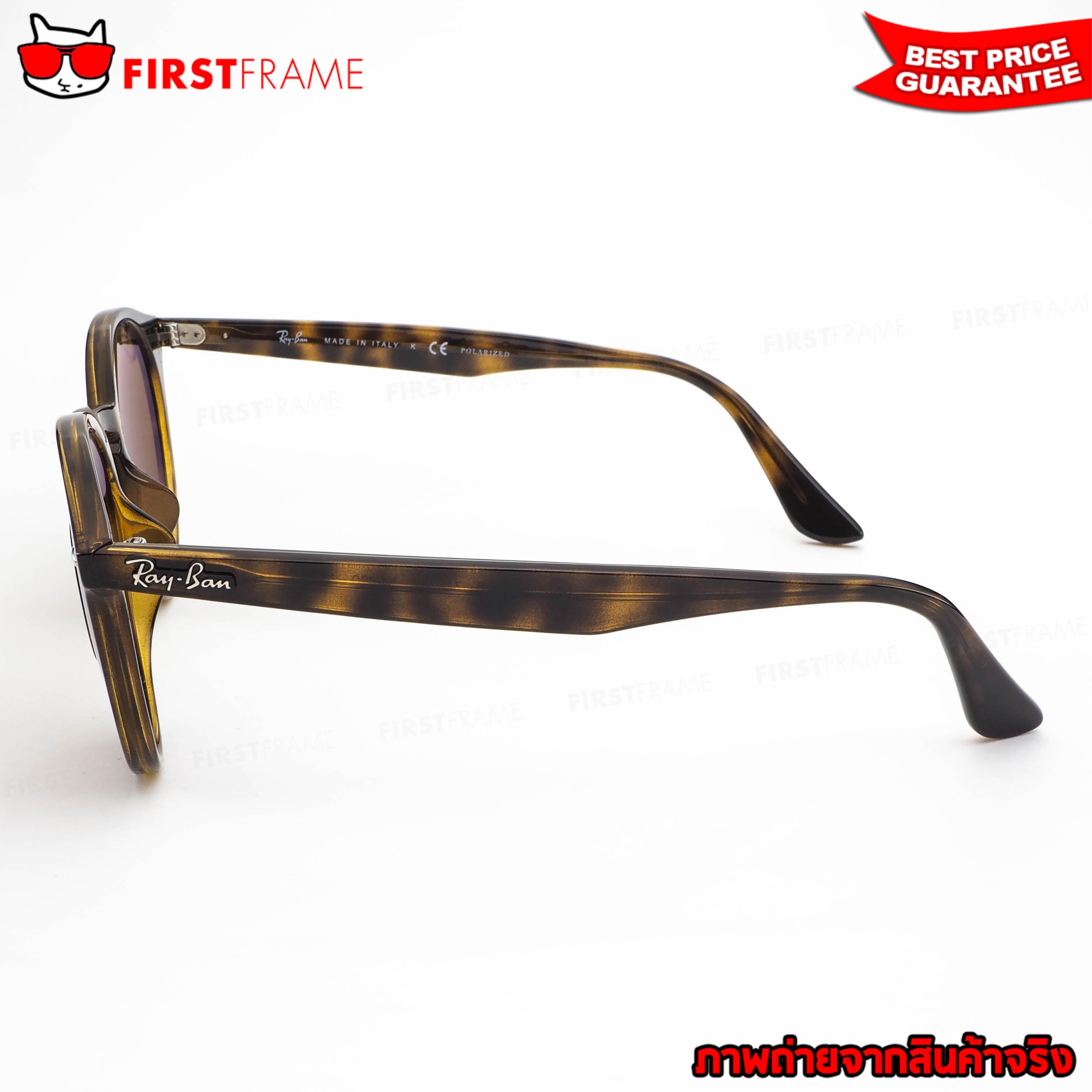 แว่นกันแดด RayBan RB2180F 710/83 3