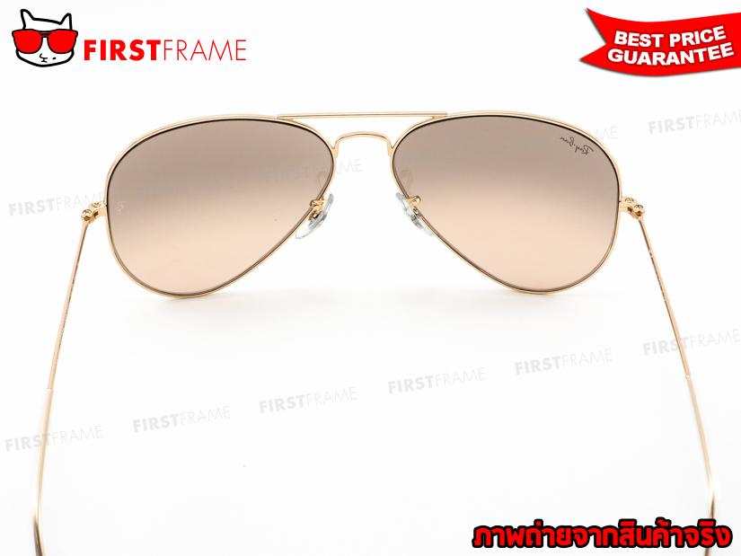 แว่นกันแดด RayBan RB3025 001/3E | AVIATOR LARGE METAL5