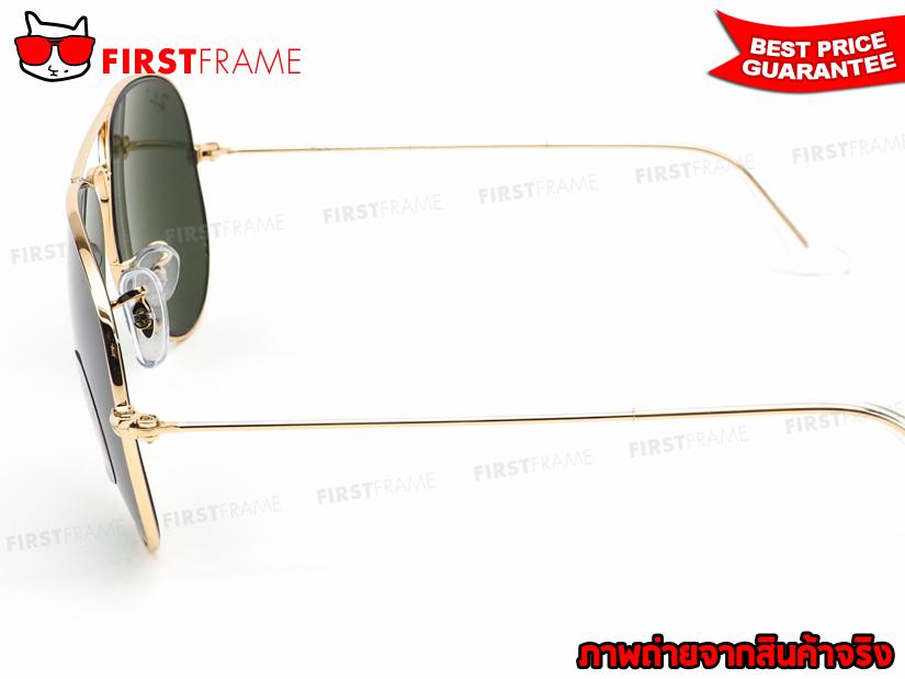 แว่นกันแดด RayBan RB3025 001/58 AVIATOR LARGE METAL4