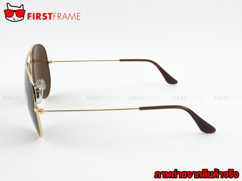 แว่นกันแดด RayBan RB3025 001/57 AVIATOR LARGE METAL3