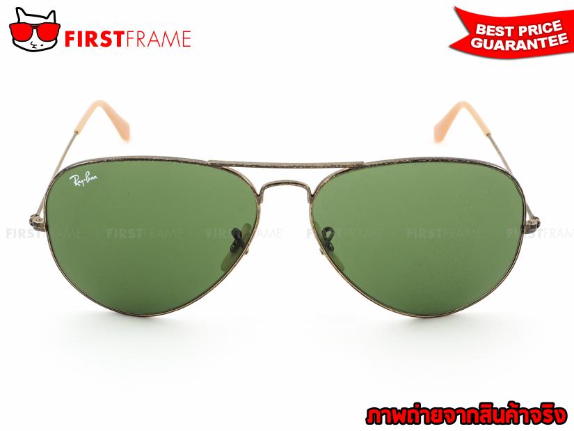 แว่นกันแดด RayBan RB3025 177/4E AVIATOR DISTRESSED3