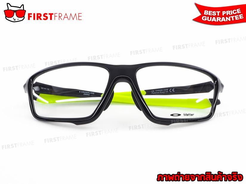 แว่นสายตา OAKLEY OX8080-02 CROSSLINK ZERO (ASIA FIT) 4