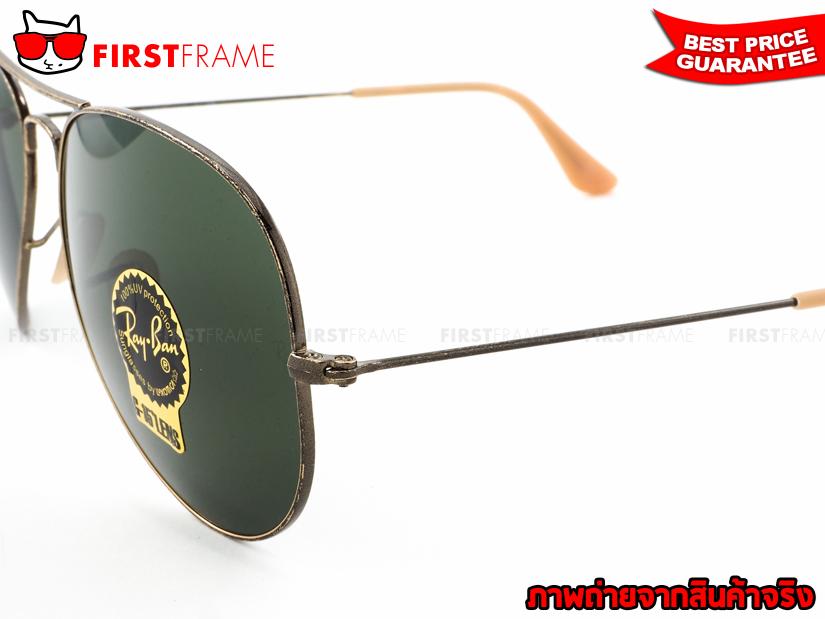 แว่นกันแดด RayBan RB3025 177 AVIATOR LARGE METAL4
