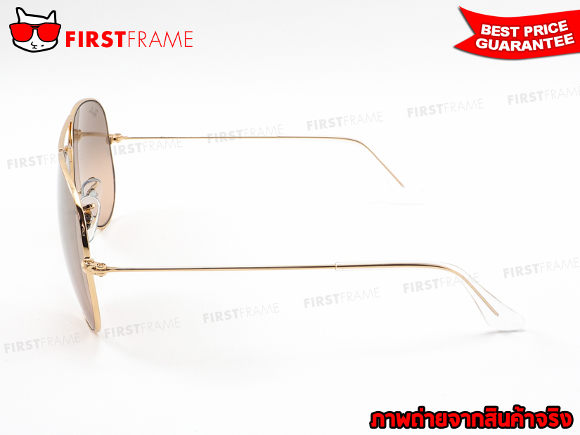 แว่นกันแดด RayBan RB3025 001/3E | AVIATOR LARGE METAL3
