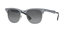 แว่นกันแดดเรแบนของแท้ Raybanแท้ RB3507 CLUBMASTER ALUMINUM
