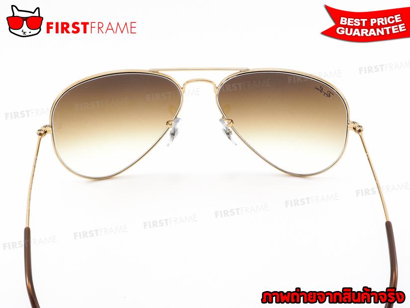 แว่นกันแดด RayBan RB3025 001/51   AVIATOR LARGE METAL5