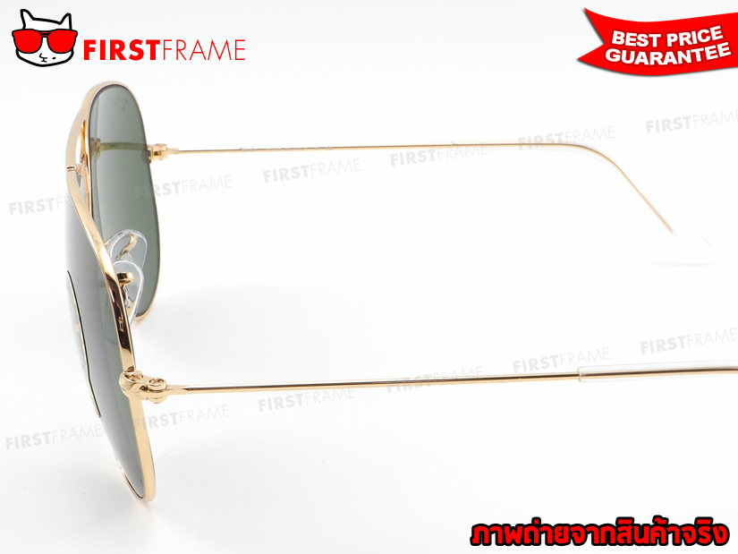 แว่นกันแดด RayBan RB3025 L0205 AVIATOR LARGE METAL4