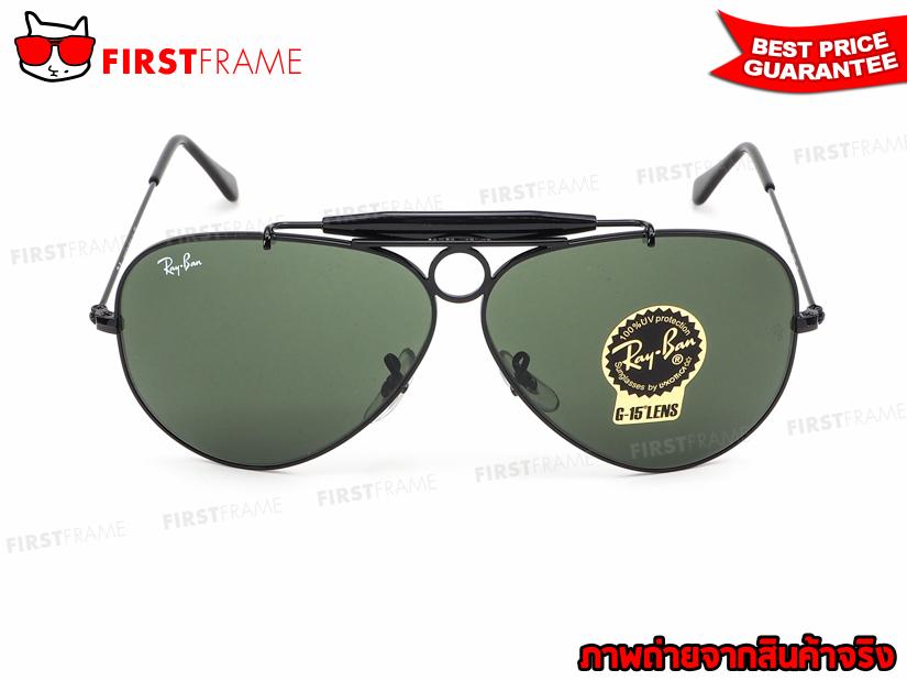 แว่นกันแดด RayBan RB3138 002 SHOOTER 2