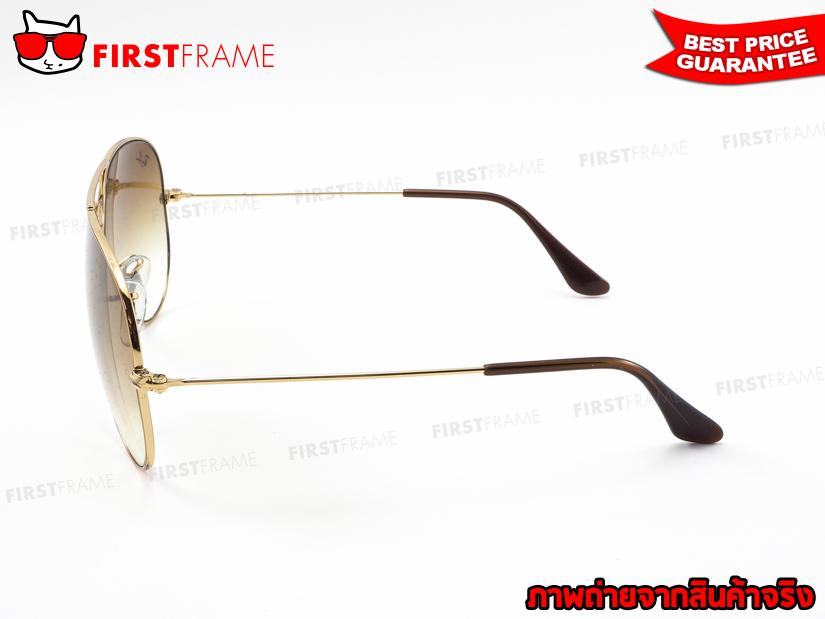 แว่นกันแดด RayBan RB3025 001/51   AVIATOR LARGE METAL3