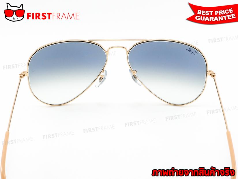 แว่นกันแดด RayBan RB3025 001/3F | AVIATOR LARGE METAL5