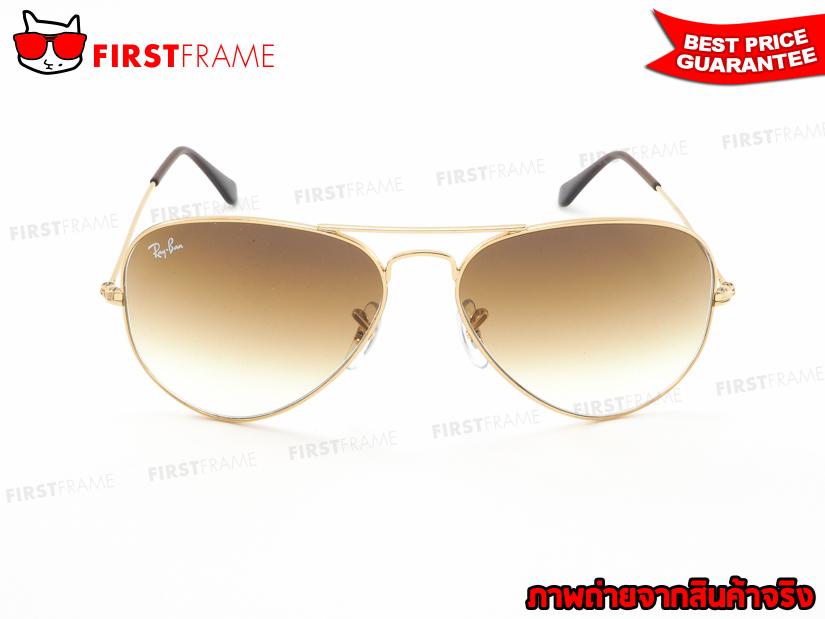 แว่นกันแดด RayBan RB3025 001/51   AVIATOR LARGE METAL2