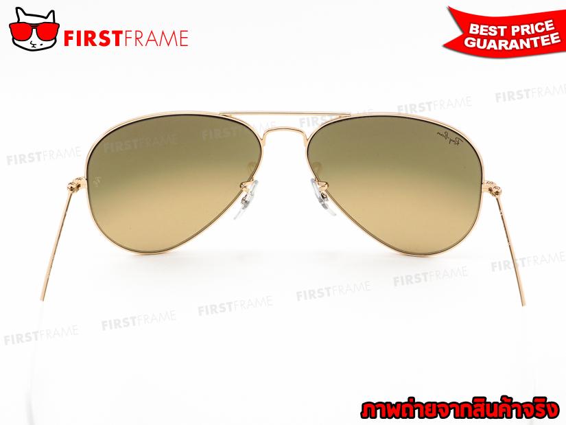 แว่นกันแดด RayBan RB3025 001/3K | AVIATOR LARGE METAL5