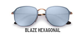 RayBan RB3579N BLAZE HEXAGONAL