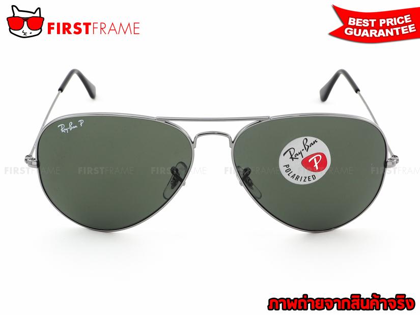แว่นกันแดด RayBan RB3025 004/58 AVIATOR LARGE METAL3