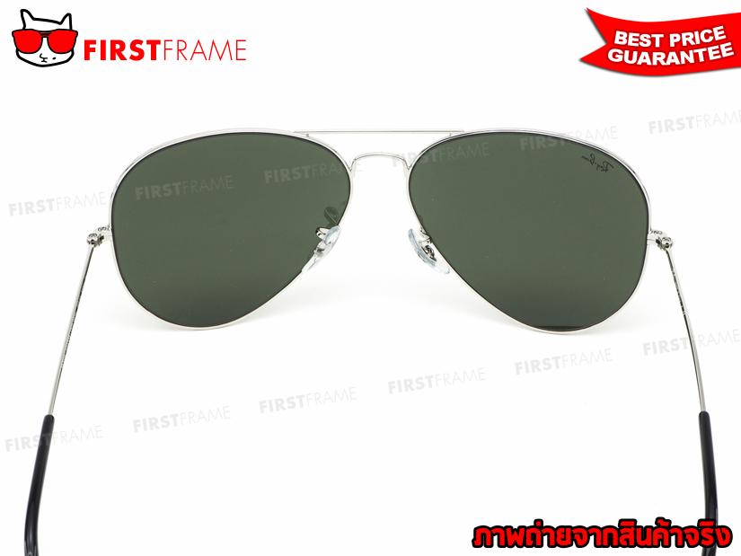 แว่นกันแดด RayBan RB3025 003/40 | AVIATOR LARGE METAL5
