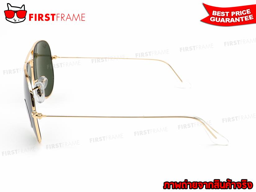 แว่นกันแดด RayBan RB3025 001/58 AVIATOR LARGE METAL3