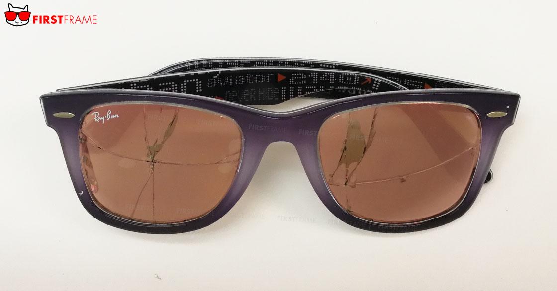 เปลี่ยนเลนส์ แว่นกันแดด Ray-Ban RB2140F 1201Z2 52