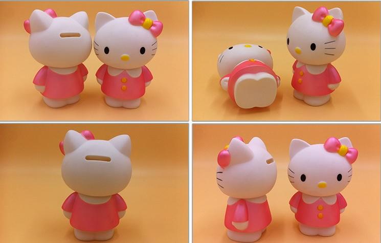 กระปุกออมสิน ฮัลโหลคิตตี้ Hello kitty#2 ขนาด 9 * 7.5 * 15.5 ซม.