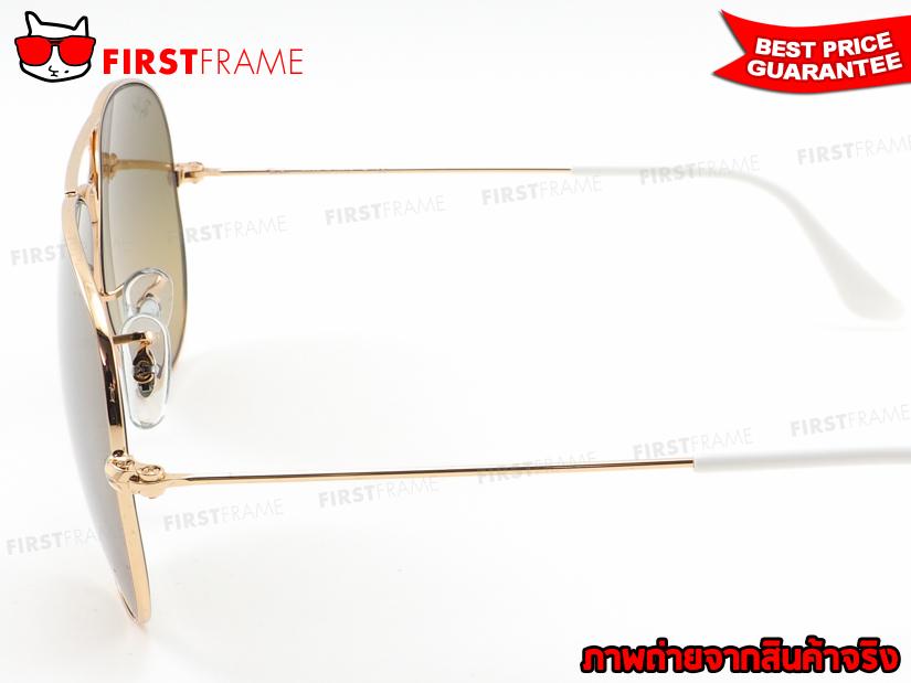แว่นกันแดด RayBan RB3025 001/3K | AVIATOR LARGE METAL4