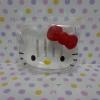 วางสบู่ในห้องน้ำ ฮัลโหลคิตตี้ Hello kitty ขนาด 12 * 9 ซม. หน้าคิตตี้โบว์แดง วางสบู่ก้อนใหญ่ได้หนึ่งก้อน