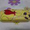 กล่องใส่แว่นตา หมีพูห์ Pooh สีเหลือง