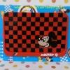 แผ่นยางกันลื่นวางในรถยนต์ มิกกี้เม้าส์ Mickey Mouse ขนาด 16 ซม. * 11 ซม.