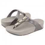 สินค้าพร้อมส่ง : รองเท้า Fitflop Pietra Pewter สีเทา มี 2 ขนาด 39และ41 **สินค้าราคาพิเศษซื้อแล้วไม่รับคืน