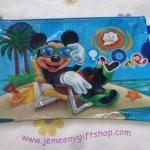 กระเป๋าซองใส่เอกสาร A4 มิกกี้เม้าส์ Mickey Mouse ขนาดยาว 13.5 นิ้ว * สูง 9 นิ้ว