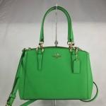 สินค้าพร้อมส่งจาก USA » กระเป๋า COACH F36704 mini CLASSIC GREEN LEATHER TOTE SHOULDER CROSSBODY