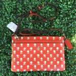 สินค้าพร้อมส่งจาก USA » กระเป๋า COACH F38159 EAST/WEST CROSSBODY POP UP POUCH BADLAND FLORAL PRINT COATED CANVAS
