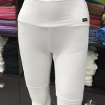 ซับในกางเกงขาสามส่วน สีขาว