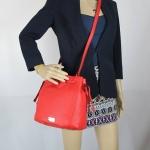 สินค้าอยู่ USA: กระเป๋า Kate Spade Katie Highland place Deepblaze636 สีแดง **สินค้ามีตำหนิที่สายสะพาย