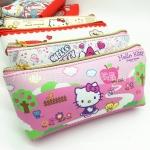 กระเป๋าใส่ดินสอปากกา คิตตี้ kitty#10 ขนาดกว้าง 4 ซม.* ยาว 21 ซม.* สูง 8 ซม.
