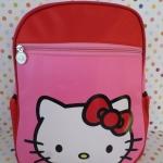 """กระเป๋าเป้สะพายหลัง ฮัลโหลคิตตี้ Hello kitty size 12"""" : ขนาดกว้าง 14 ซม. * ยาว 23 ซม. * สูง 31 ซม."""