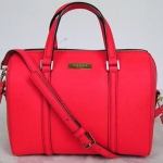 สินค้าพร้อมส่ง » กระเป๋า Kate Spade WKRU2852 Mini Cassie Newbury Lane Red Small Satchel/ Crossbody Bag