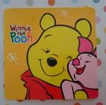ที่ติดพรบและป้ายภาษีรถยนต์แบบสูญญากาศ หมีพูห์ pooh