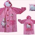 เสื้อกันฝนสำหรับเด็ก คิตตี้ kitty size S , M , L , XL