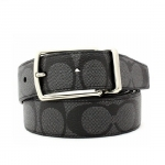 สินค้าพร้อมส่งจาก USA » เข็มขัด COACH F64825 MODERN HARNESS CUT-TO-SIZE REVERSIBLE SIGNATURE COATED CANVAS BELT