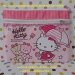 กระเป๋าใส่ดินสอปากกา ฮัลโหลคิตตี้ Hello kitty ขนาดยาว ซม. * สูง ซม.