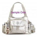 สินค้าอยู่ USA : กระเป๋า Kipling Fairfax L SILVBRESNK HB6124-824 สีเงิน เหมือนรูปที่ 2