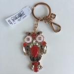 สินค้าพร้อมส่ง » พวงกุญแจลายนกฮูก Kate Spade WORU0013 Multi Keyfobs Owl Jewels Key Chain