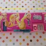 กล่องดินสอแม่เหล็ก เจ้าหญิง barbie มีกบเหลาในตัว