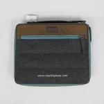 พร้อมส่ง EMS : กระเป๋าใส่ iPad2,3 COACH 66481 Men's Varick iPad Case Mustard Multicolor